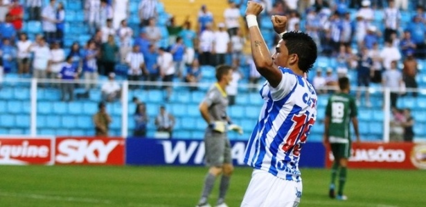 Luciano rescindiu seu contrato com o Avaí e poderá atuar no futebol paulista - Jamira Furlani / site oficial do Avaí