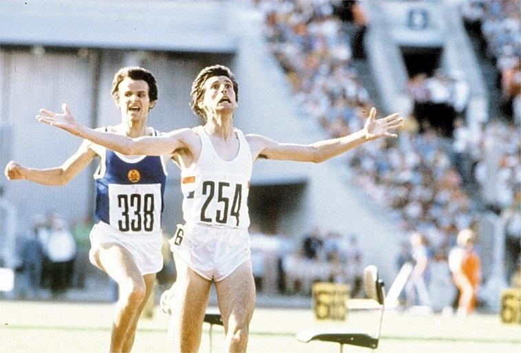 O ex-presidente do COI Sebastian Coe foi ouro nos 1.500 m nas Olimpíadas de Moscou