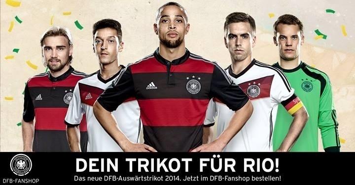 Alemanha admite inspiração no Flamengo para novo uniforme da Copa