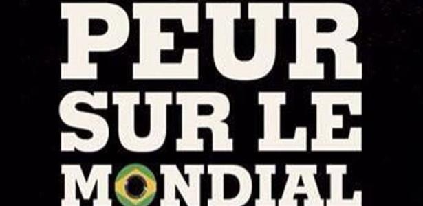 Capa da revista France Football, publicada no final de janeiro, e que possui um texto falso no Facebook