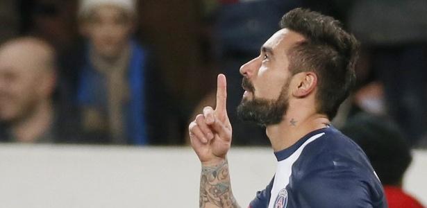Lavezzi tem contrato com o PSG apenas até o final da atual temporada