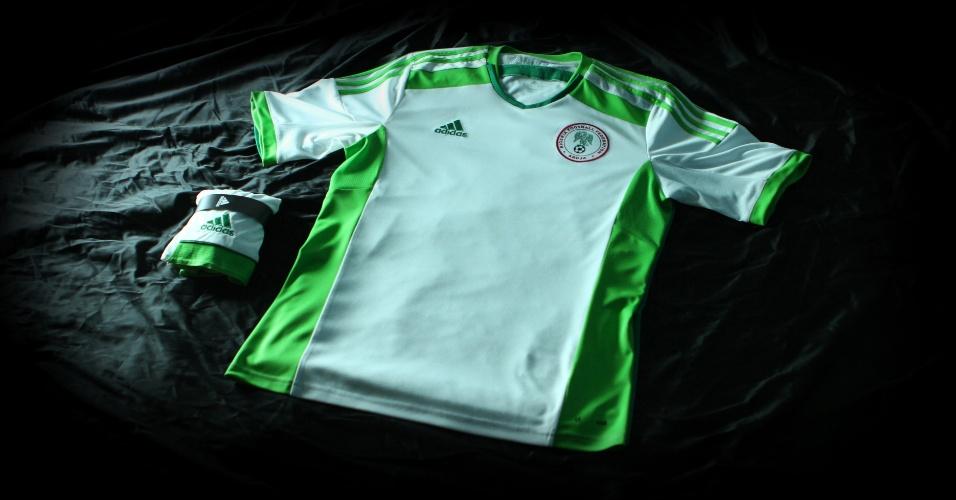 Nigéria divulga camiseta de visitante para a Copa do Mundo