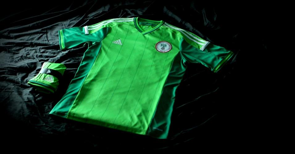 Nigéria divulga camiseta para a Copa do Mundo