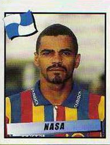 Nasa -Volante de marcação, Nasa participou da conquista da Libertadores pelo Vasco, além dos Brasileiros de 97 e 2000. Mas sua imagem ficou marcada negativamente após falha que resultou em gol do Real Madrid vitória na final do Mundial Interclubes, em 98, em jogo contra o Vasco.