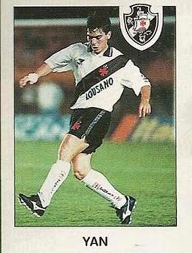 Yan - Meia-esquerda subiu no Vasco em 1992. Ganhou os cariocas de 93 e 94. Seu início foi promissor, atuando na seleção brasileira de juniores. Mas não teve conquistas expressivas anos depois.