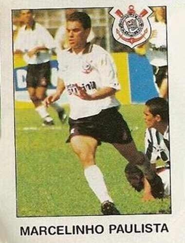 Marcelinho Paulista - Começou no Corinthians apenas como Marcelinho, mas incorporou o Paulista após o time alvinegro contratar outro Marcelinho, o Carioca. Volante, Marcelinho Paulista conquistou a Copa do Brasil e o Campeonato Paulista de 1995