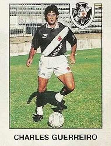 Charles Guerreiro - Atuava no meio-campo e na lateral. Se destacou no Flamengo nos anos 90 e ganhou chance na seleção brasileira. Marcou época atuando no futebol carioca, onde teve passagem pelo Vasco