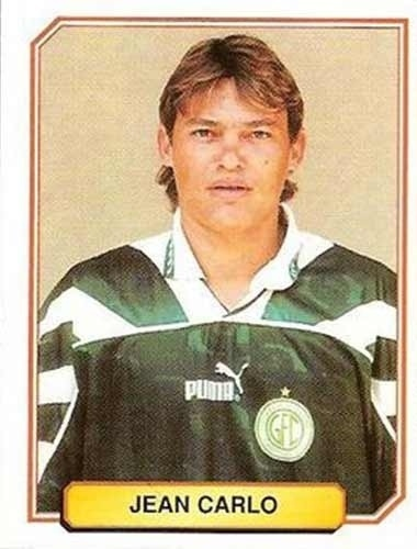 Jean Carlo - Teve seu melhor momento como atleta do Palmeiras. Jean Carlo atuou no Atlético-PR, Guarani, entre outros