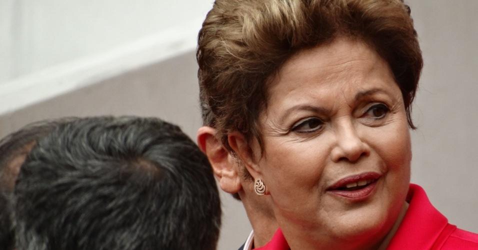 Dilma Rousseff participa de inauguração do estádio Beira-Rio