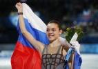 Adelina Sotnikova é campeã olímpica na patinação