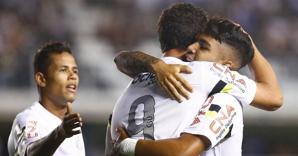 Oswaldo cogita escalar Santos com Damião e Gabriel Barbosa juntos no clássico contra o São Paulo