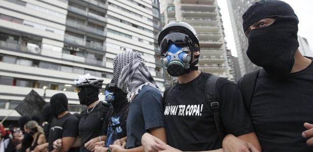 Protestos contra a Copa do Mundo têm terminado em conflitos violentos e assustam o governo dos EUA