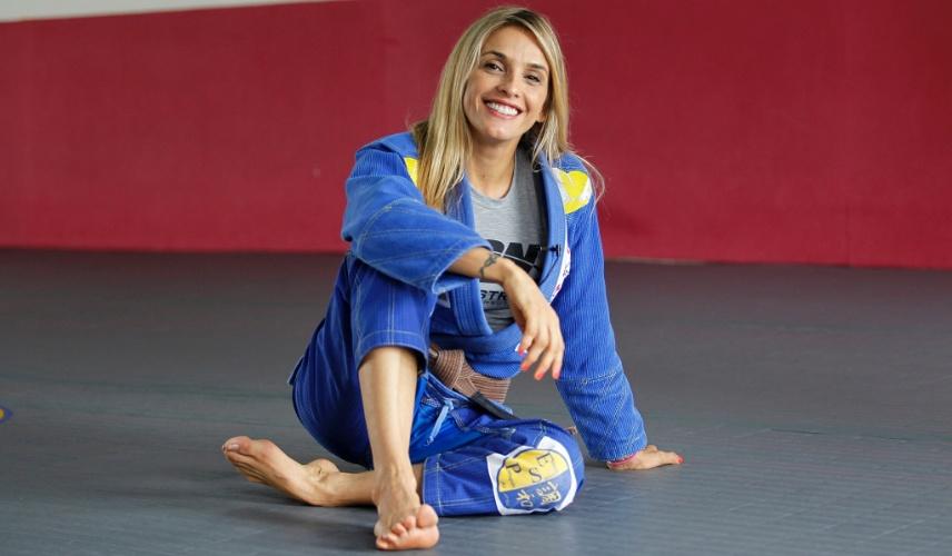 O relacionamento com o mestre e lutador Eduardo Santoro, o Português, foi o empurrãozinho para Syang entrar com tudo no jiu-jítsu