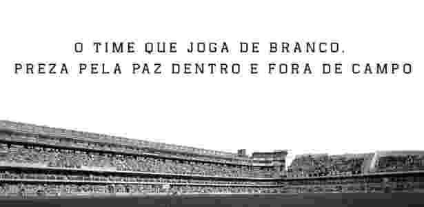 O Santos repudia a morte de um de seus torcedores após o clássico contra o São Paulo - Divulgação/Santos FC