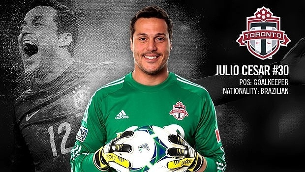 Perfil do goleiro Julio Cesar no site oficial do Toronto FC