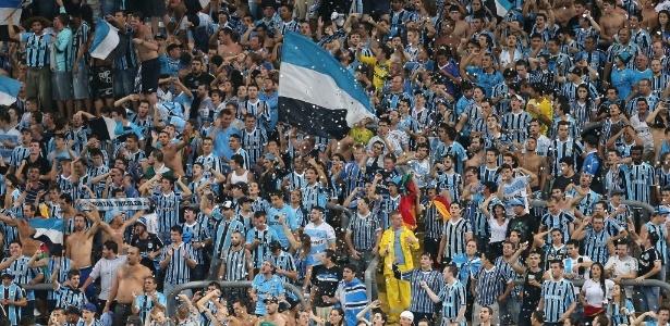 Torcida do Grêmio esgotou as vendas de entradas para semi da Copa do Brasil