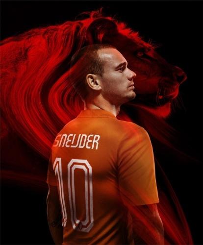 04.03.14 - Uniforme principal da Holanda para a Copa de 2014 aposta na tradicional cor laranja