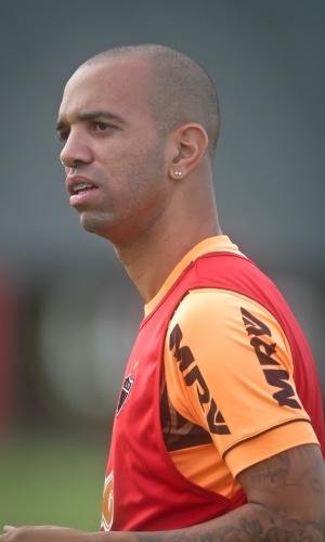 3 mar. 2014 - Atacante Diego Tardelli durante treino do Atlético-MG na Cidade do Galo