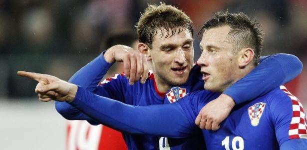 Os croatas serão os primeiros adversários do Brasil na Copa do Mundo