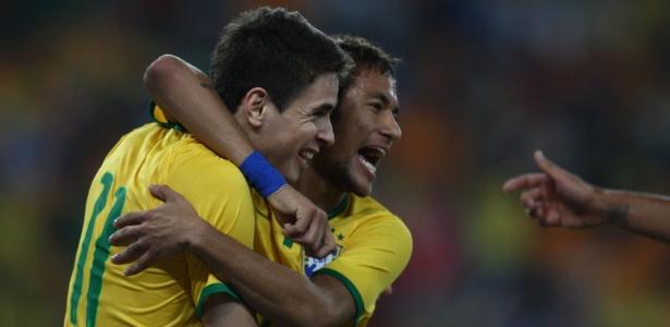 Neymar e Oscar são representantes em comum dos 'Santos' e 'Júnior'