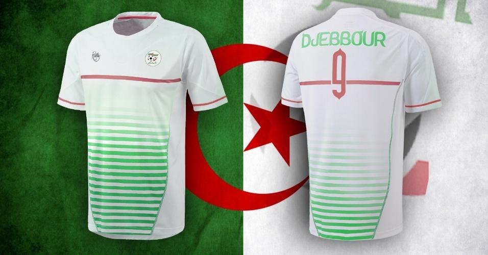 Camisa alternativa da Argélia criada por artista
