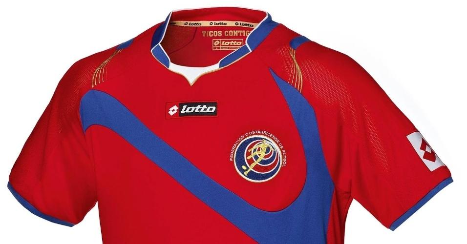 Uniforme da Costa Rica para a Copa do Mundo do Brasil