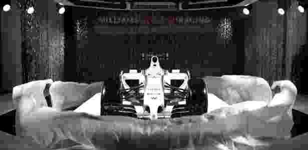 Williams de 2014 - Divulgação/Williams - Divulgação/Williams