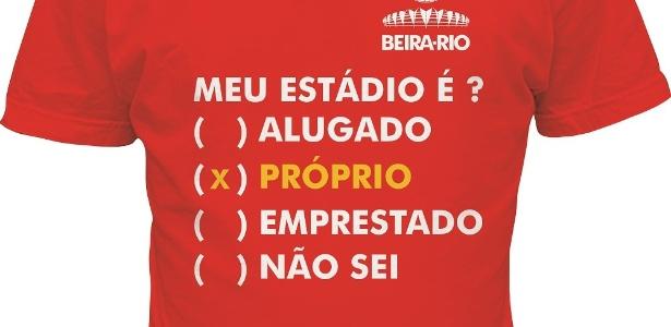 Inter cancela venda de camisa do Beira-Rio com provocação ao Grêmio -  06 03 2014 - UOL Esporte 395813a68d9bc