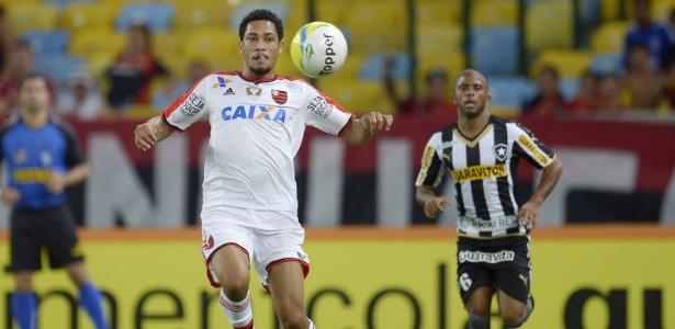 Hoje no Bahia, Hernane foi vendido pelo Flamengo ao Al Nassr em 2014 - Alexandre Vidal - Fla Imagem