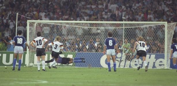 Pegador de pênaltis, Goycochea só não conseguiu pegar o mais importante; contra a Alemanha em 1990