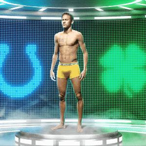 Neymar fica só de cueca em novo comercial de TV - Divulgação