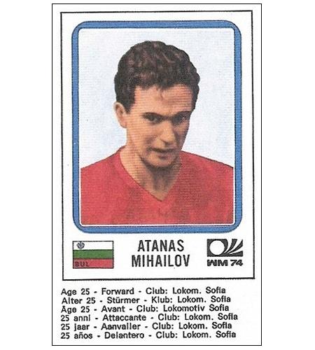 Atanas Mihailov - Bulgária 1974