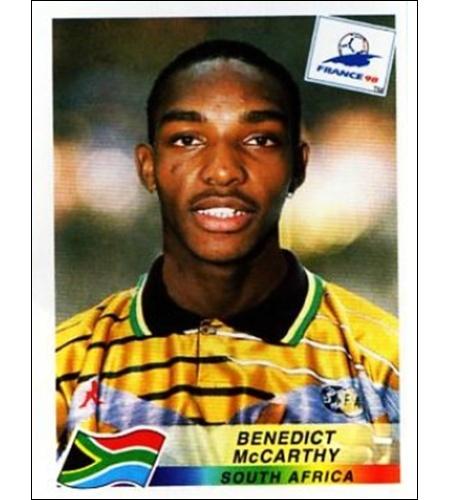 Benny McCarthy - África do Sul 1998