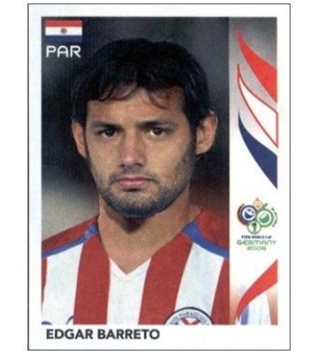 Diego Barreto - Paraguai 2006