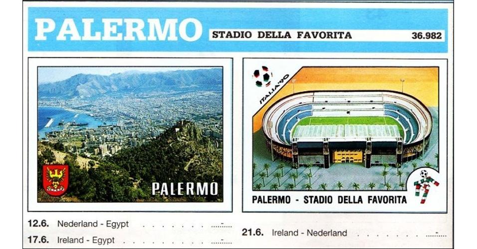 Estádio della Favorita - Copa do Mundo 1990