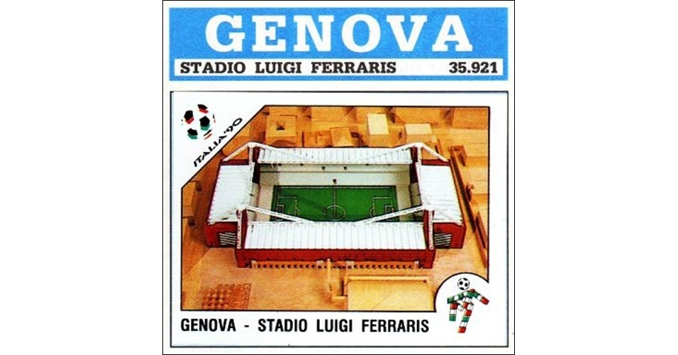 Estádio Luigi Ferraris - Copa do Mundo 1990