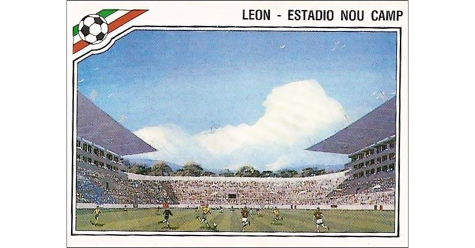 Estádio Nou Camp - Copa do México 1986
