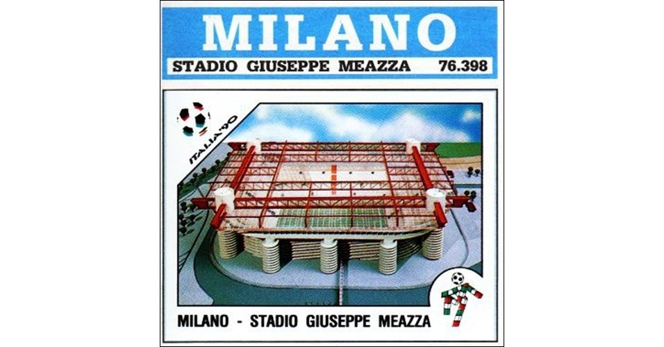 Estádio San Siro - Copa do Mundo 1990