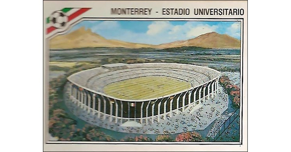 Estádio Universitario - Copa do México 1986