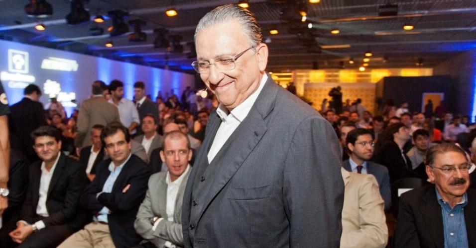 Galvão Bueno completará 33 anos como narrador de Fórmula 1 pela Rede Globo (17-02-2014)