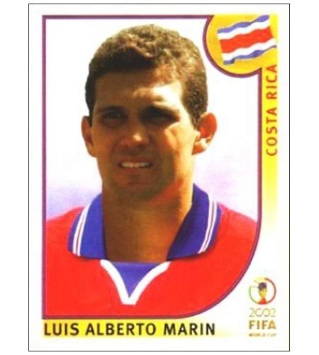 Luis Alberto Marin - Costa Rica 2002