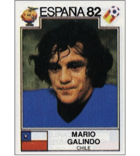 Mario Galindo - Chile 1982