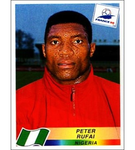 Peter Rufai - Nigéria 1998