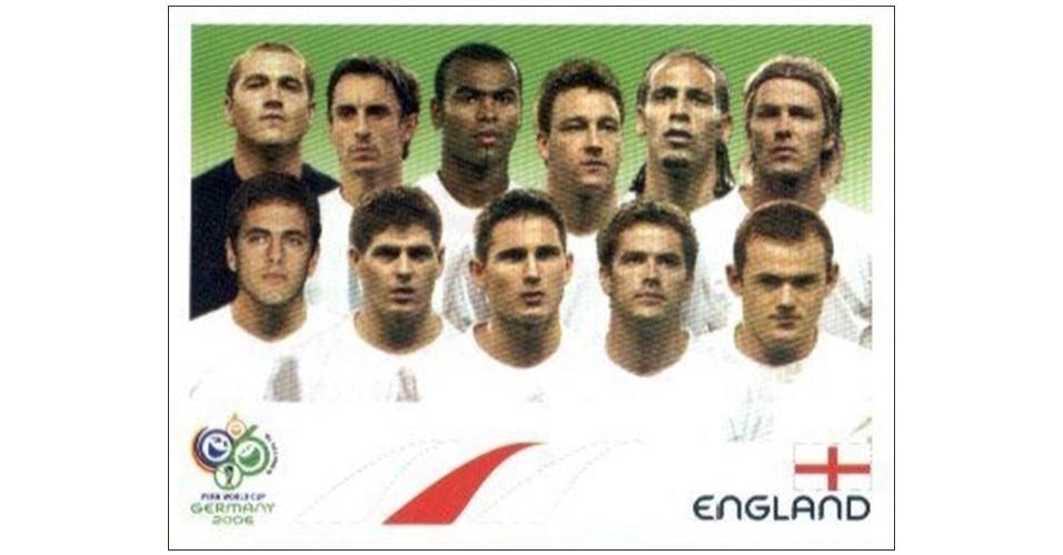 Seleção da Inglaterra - Copa 2006