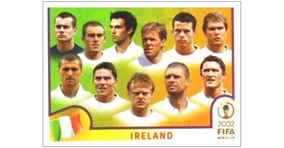 Seleção da Irlanda 2002