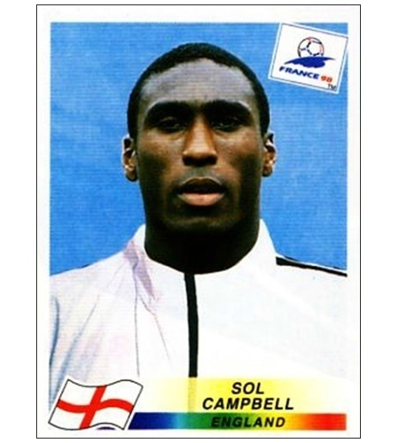 Sol Campbell - Inglaterra 1998