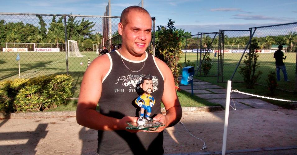 13 mar 2014 - Artesão por hobby, o enfermeiro Willian Goulart levou três dias para fazer a miniatura de Fábio