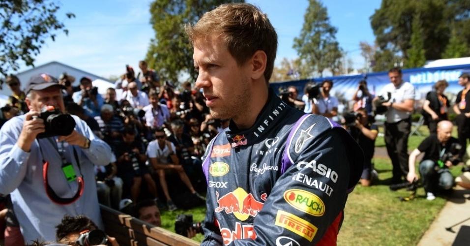 Sebastian Vettel não figura no topo dos apostadores. Hamilton é o favorito ao título em casas de apostas