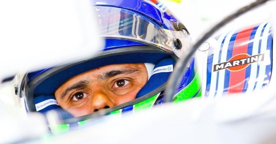 Felipe Massa disse que o carro estava a dianteira saindo com muita frequência, causando instabilidade