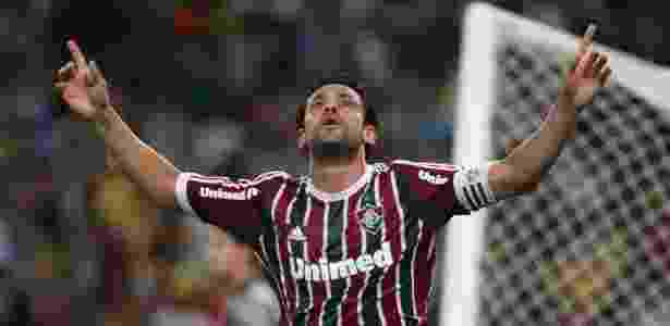 Capitão tricolor, Fred é o principal ídolo do Fluminense na atualidade - Ricardo Ayres/Photocamera